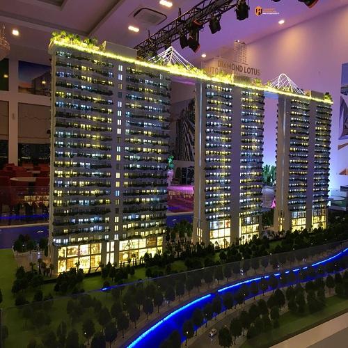 Dự án Diamond Lotus chủ đầu tư cty Phúc Khang