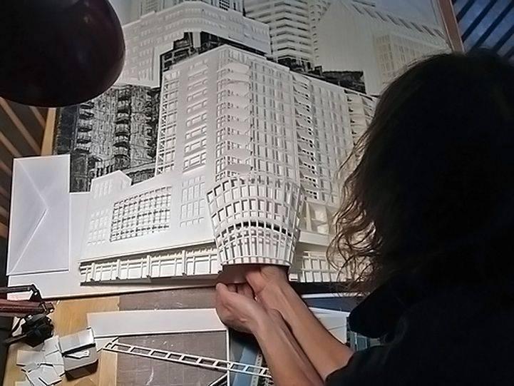 Những Mô Hình Kiến Trúc 3D Làm Bằng Giấy